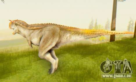 Carnotaurus für GTA San Andreas zweiten Screenshot
