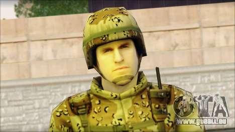 Navy Seal Soldier für GTA San Andreas dritten Screenshot