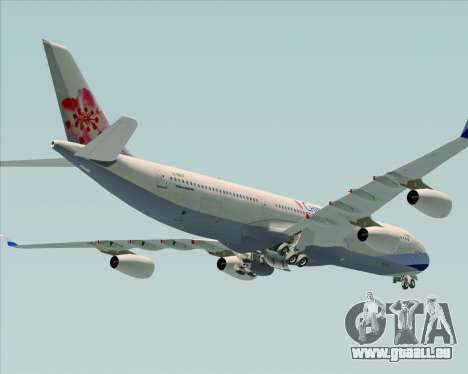Airbus A340-313 China Airlines pour GTA San Andreas