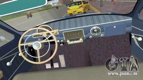 GAZ-21R Volga 1965 für GTA Vice City Seitenansicht