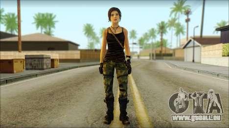 Tomb Raider Skin 4 2013 pour GTA San Andreas