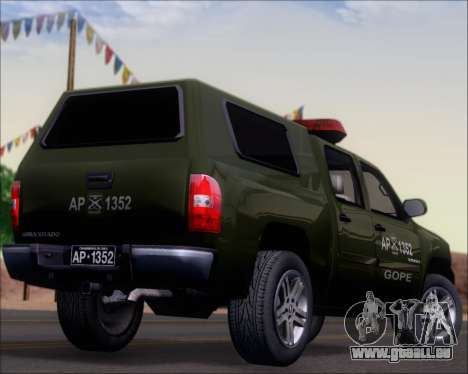 Chevrolet Silverado Gope für GTA San Andreas obere Ansicht