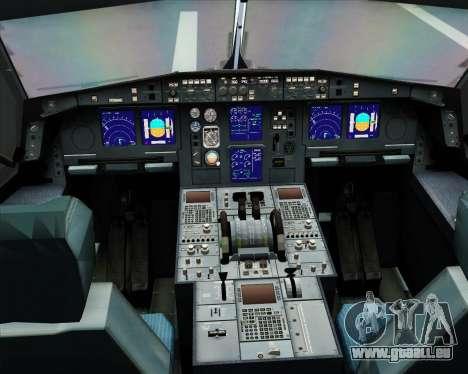 Airbus A330-300 Northwest Airlines für GTA San Andreas Innen