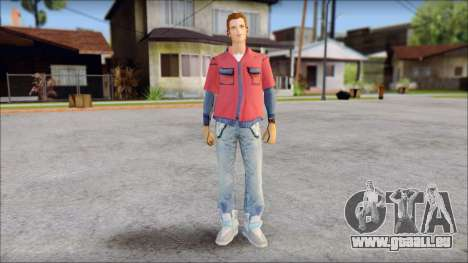 Marty with No Hat 2015 pour GTA San Andreas