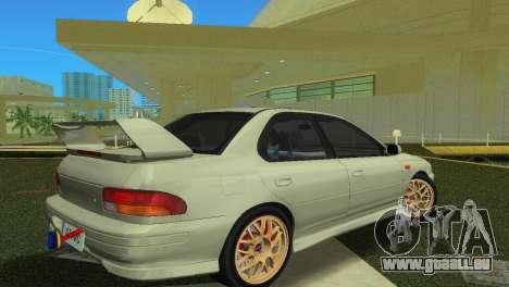 Subaru Impreza WRX STI GC8 Sedan Type 2 für GTA Vice City zurück linke Ansicht