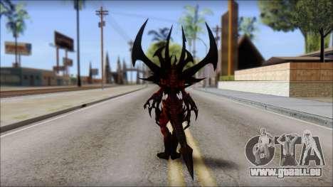 Diablo From Diablo III pour GTA San Andreas deuxième écran