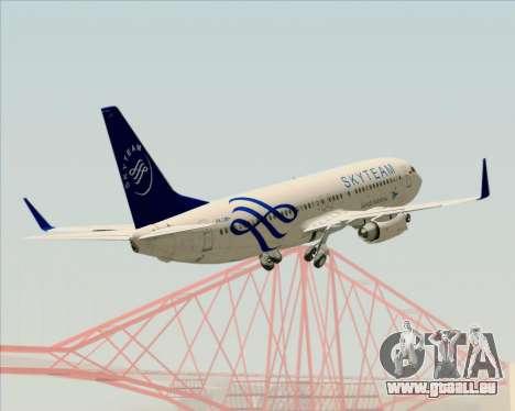 Boeing 737-86N Garuda Indonesia pour GTA San Andreas moteur
