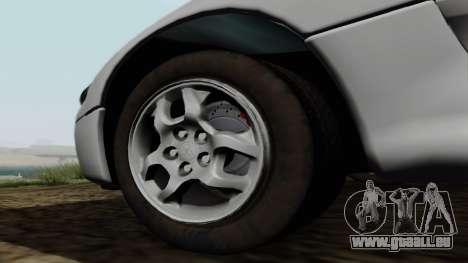 Mitsubishi 3000GT pour GTA San Andreas vue de droite