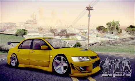 Mitsubishi Lancer Turkis Drift für GTA San Andreas