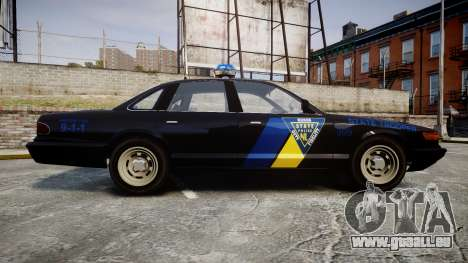 Vapid Police Cruiser LSPD Generation [ELS] pour GTA 4 est une gauche