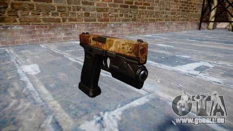 Pistolet Glock 20 elite pour GTA 4