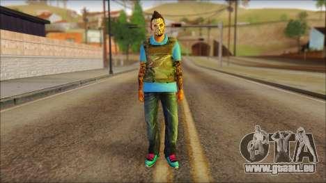 Skin Sicario GTA V By Cesar Hardy für GTA San Andreas