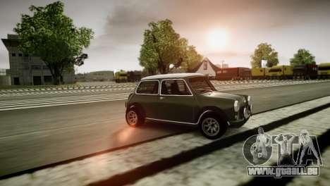 Mini Cooper RWD pour GTA 4 Vue arrière de la gauche