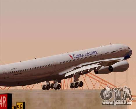 Airbus A340-313 China Airlines pour GTA San Andreas moteur