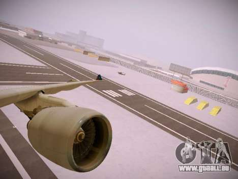 Airbus A330-300 Brussels Airlines pour GTA San Andreas roue