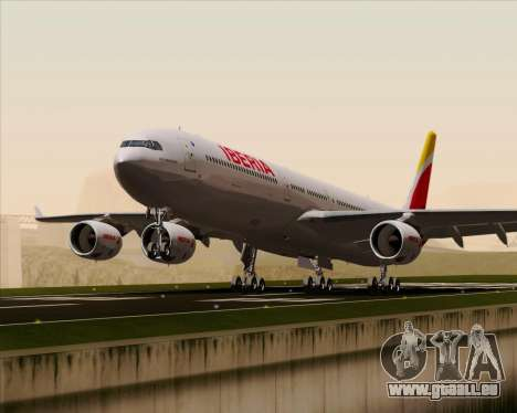 Airbus A340-642 Iberia Airlines pour GTA San Andreas