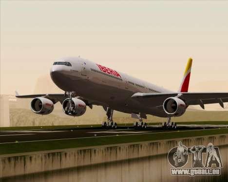Airbus A340-642 Iberia Airlines für GTA San Andreas