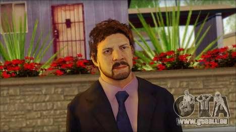 GTA 5 Ped 12 pour GTA San Andreas troisième écran