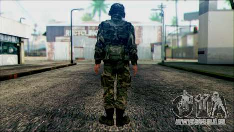 Les soldats de la garde Nationale des états-UNIS pour GTA San Andreas deuxième écran