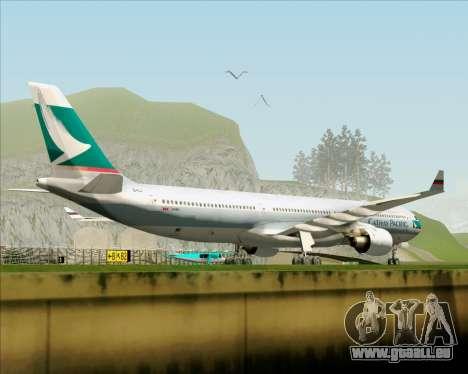 Airbus A330-300 Cathay Pacific für GTA San Andreas Seitenansicht