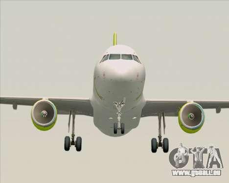 Airbus A320-200 Air Australia für GTA San Andreas Rückansicht