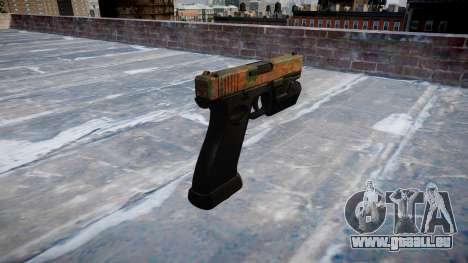 Pistolet Glock 20 jungle pour GTA 4 secondes d'écran