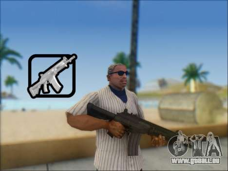 Israelische Karabiner ACE 21 für GTA San Andreas