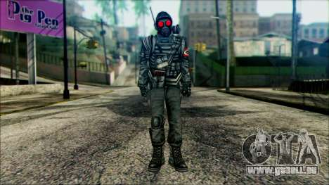 Manhunt Ped 1 für GTA San Andreas