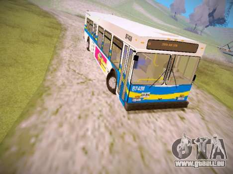 NewFlyer D40LF TransLink Vancouver BC für GTA San Andreas linke Ansicht