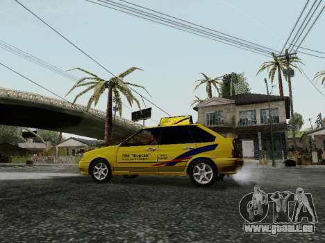 VAZ 2114 TMK postcombustion pour GTA San Andreas vue arrière