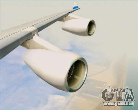 Airbus A340-313 China Airlines pour GTA San Andreas roue