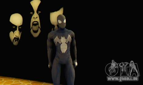 Skin The Amazing Spider Man 2 - DLC Black Suit für GTA San Andreas