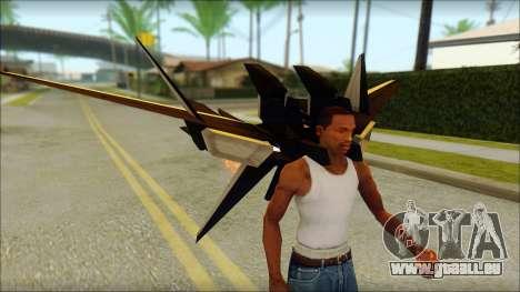Machine Wing Jetpack für GTA San Andreas her Screenshot