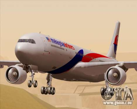 Airbus A330-323 Malaysia Airlines für GTA San Andreas