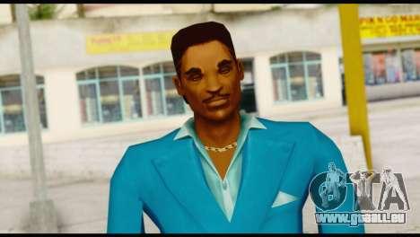 Lance Suit pour GTA San Andreas troisième écran