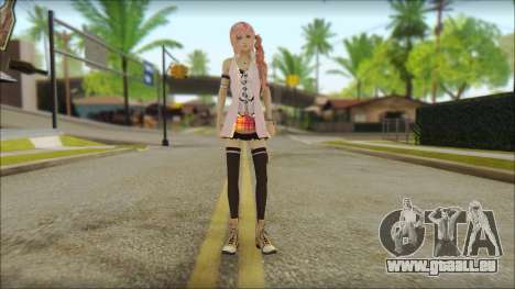 Sarah from Final Fantasy XIII pour GTA San Andreas