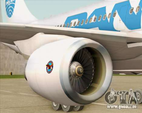 Airbus A310-324 Pan American World Airways für GTA San Andreas Innen