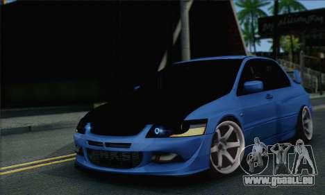 Mitsubishi Lancer Evolution IIX für GTA San Andreas