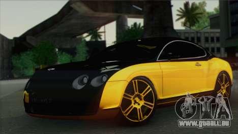 Bentley Continental GT Mansory für GTA San Andreas