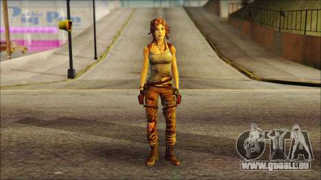 Tomb Raider Skin 7 2013 für GTA San Andreas