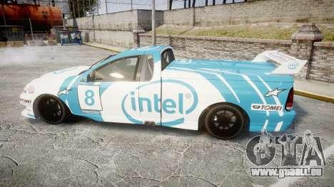 Ford Falcon XR8 Racing pour GTA 4 est une gauche