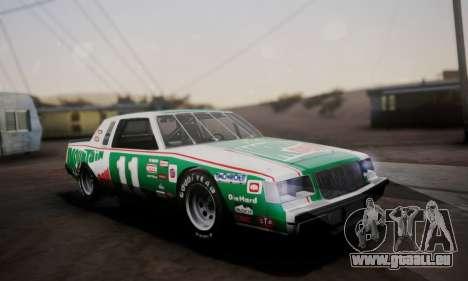 Buick Regal 1983 für GTA San Andreas Unteransicht