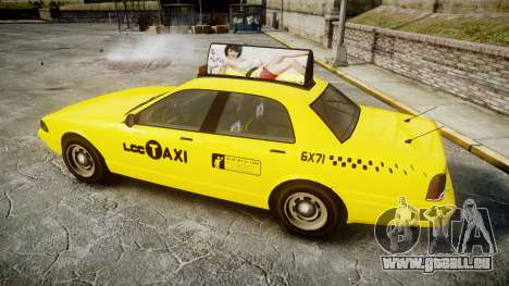 GTA V Vapid Taxi LCC für GTA 4 linke Ansicht