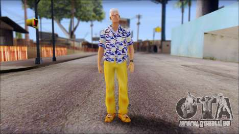 Doc from Back to the Future 1985 pour GTA San Andreas
