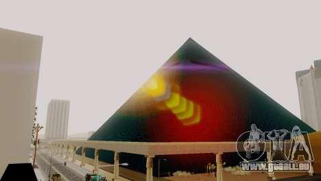 Neue Texturen der Pyramide in Las Venturas für GTA San Andreas fünften Screenshot