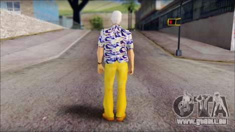 Doc from Back to the Future 1985 für GTA San Andreas zweiten Screenshot