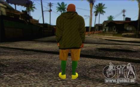 Grove Street Dealer from GTA 5 pour GTA San Andreas deuxième écran