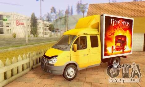 33023 GAZelle Godsmack - hat 1000hp (2014) für GTA San Andreas