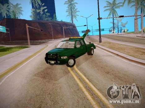 Dodge Ram Tow-Truck für GTA San Andreas linke Ansicht