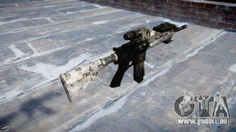 Automatische Gewehr Colt M4A1 ghotex für GTA 4 Sekunden Bildschirm